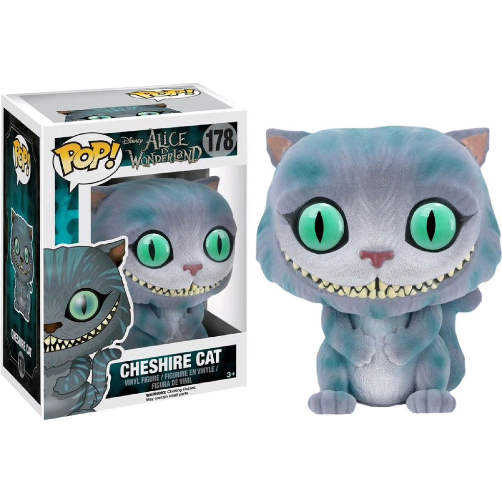 Disney Pop! Vinyl Figure Flocked Cheshire Cat [Alice in Wonderland Live Action]