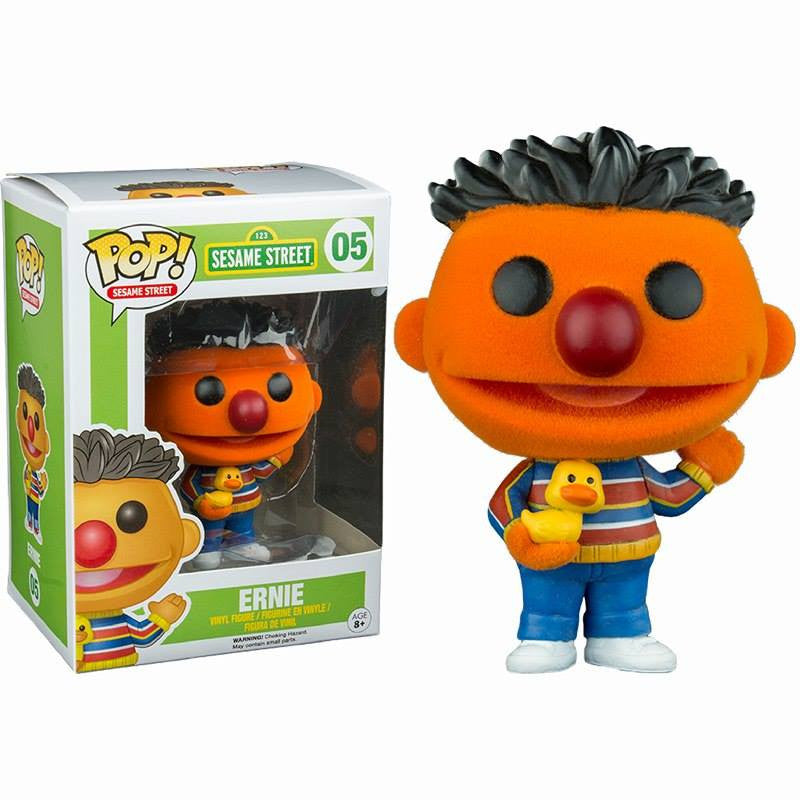 Sesame Street Pop! Vinyl Flocked Ernie [Exclusive] - Fugitive Toys