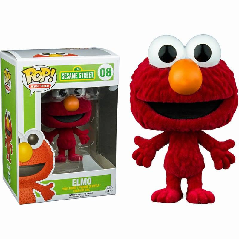 Sesame Street Pop! Vinyl Flocked Elmo [Exclusive]