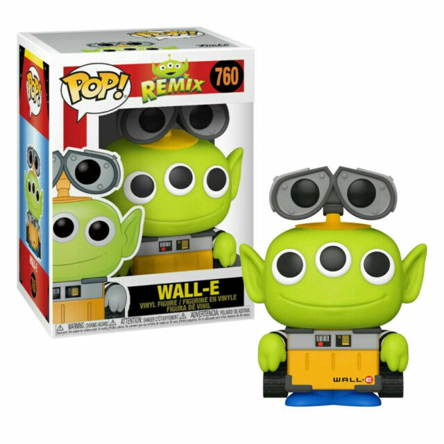 Disney Pop! Vinyl Figure Pixar Alien Remix Wall-E [760]