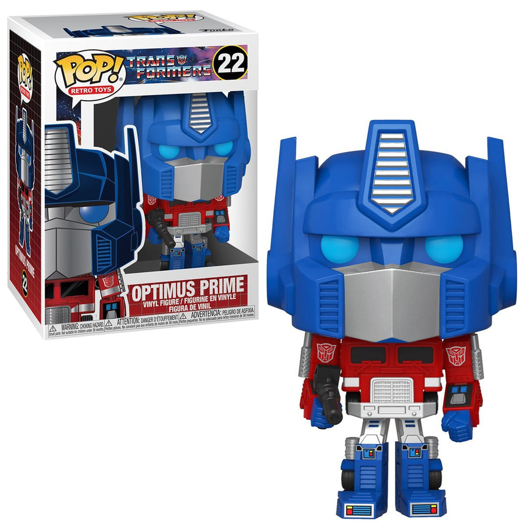 Transformers Retro Toys Pop! Vinyl Figure Optimus Prime [22]