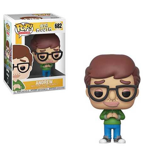 Big Mouth Pop! Vinyl Figure Andrew [682] - Fugitive Toys
