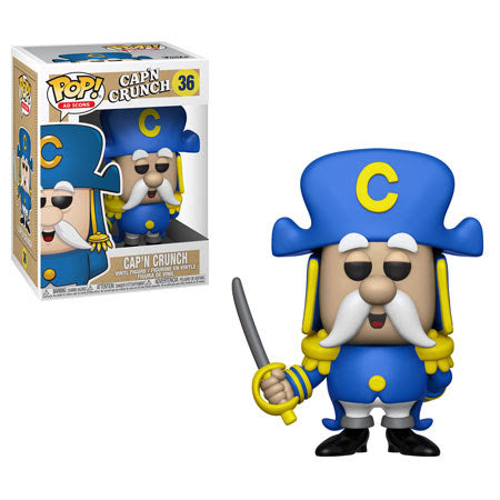 Ad Icons Pop! Vinyl Figure Captain Crunch with Sword [Quaker Oats] [36]
