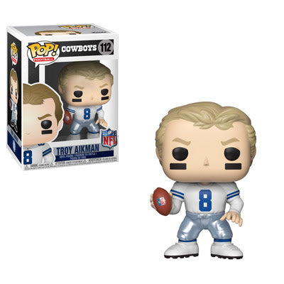 NFL Legends Pop! Vinyl Figure Troy Aikman [Dallas Cowboys] [112]