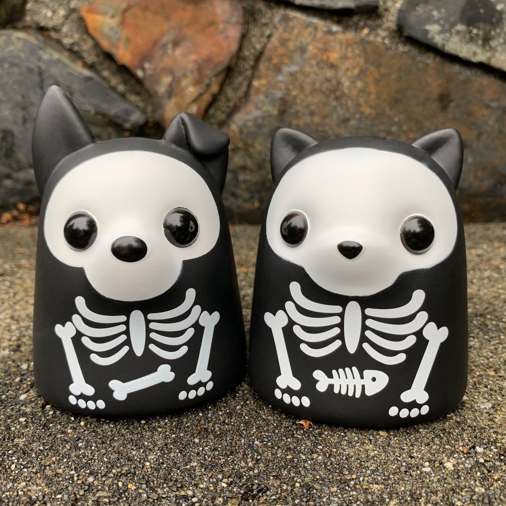 Bimtoy Tiny Ghost Puppy & Kitty X-Ray