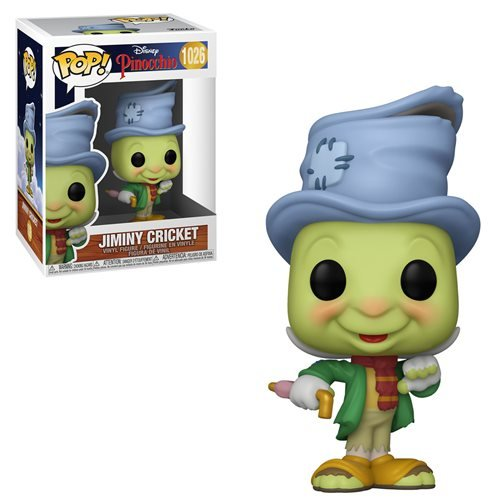 Disney Pinocchio Pop! Vinyl Figure Street Jiminy Cricket [1026]