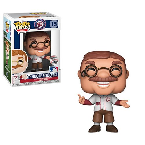 MLB Mascots Pop! Vinyl Figure Teddy Roosevelt [Washington Nationals] [15]