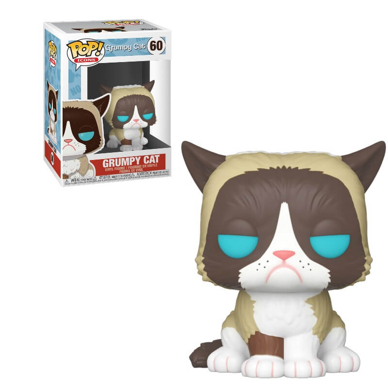 Icons Pop! Vinyl Figure Grumpy Cat [60]