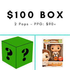 $100 Mystery Box [Green] - Fugitive Toys