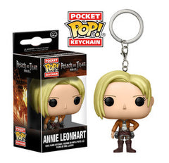 Attack On Titan Pocket Pop! Keychain Annie Leonhart