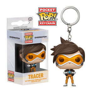 Overwatch Pocket Pop! Keychain Tracer - Fugitive Toys