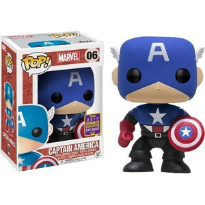 Marvel Pop! Vinyl Figure Captain America (Bucky Cap) [06] - Fugitive Toys