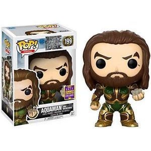 Justice League Pop! Vinyl Figure Aquaman and Motherbox (Summer 2017 Convention) [199]