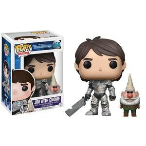 Trollhunters Pop! Vinyl Figure Jim with Gnome [466]