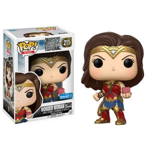 Justice League Pop! Vinyl Figure Wonder Woman and Motherbox [211]