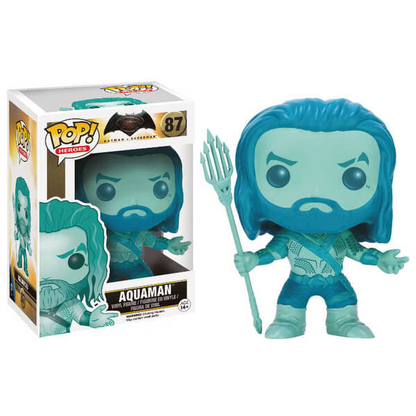 DC Comics Pop! Vinyl Batman v Superman - Aquaman (Aqua)
