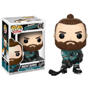 NHL Pop! Vinyl Figure Brent Burns [San Jose Sharks] [12]