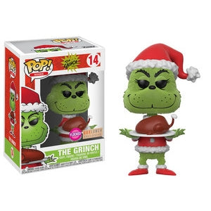 The Grinch Pop! Vinyl Figures Flocked The Grinch Roast Beast [14]