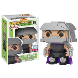 Teenage Mutant Ninja Turtles Pop! Vinyl Figures 8-bit Shredder [NYCC 2017] [8]