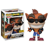 Crash Bandicoot Pop! Vinyl Figures Biker Outfit Crash Bandicoot [275] - Fugitive Toys
