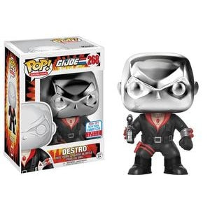 G.I. Joe Pop! Vinyl Figures Destro [NYCC 2017] [268] - Fugitive Toys