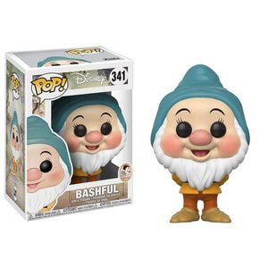 Snow White and the Seven Dwarfs Pop! Vinyl Figures Bashful [341]