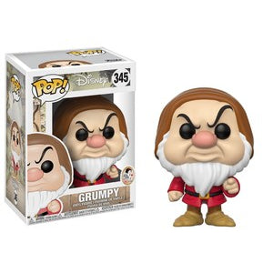Snow White and the Seven Dwarfs Pop! Vinyl Figures Pointing Grumpy [345]