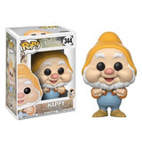 Snow White and the Seven Dwarfs Pop! Vinyl Figures Happy [344] - Fugitive Toys