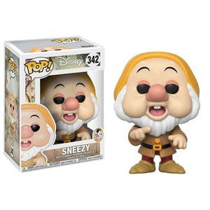Snow White and the Seven Dwarfs Pop! Vinyl Figures Sneezy [342]