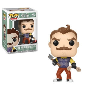 Hello Neighbor Pop! Vinyl Figure The Neighbor (with Axe and Rope) [262]