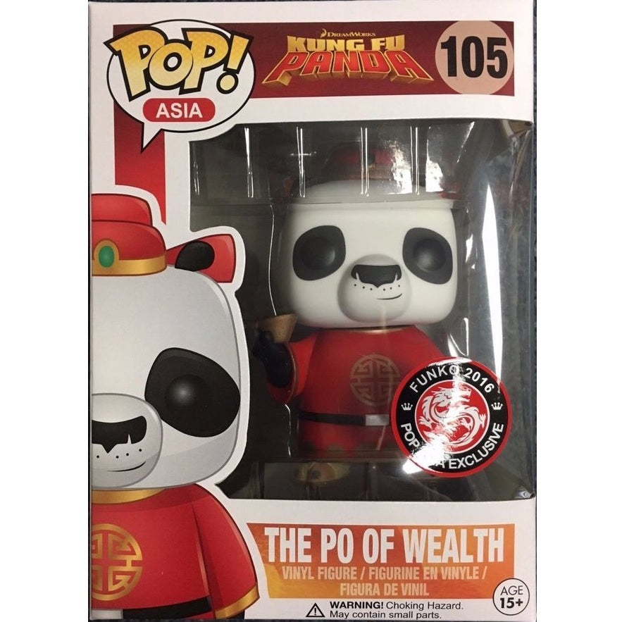 Asia Pop! Vinyl Figure The Po of Wealth [Kung Fu Panda] [105]