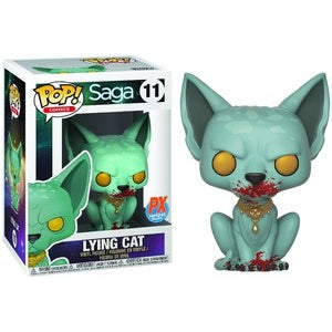 Saga Pop! Vinyl Figure Lying Cat (Bloody) [11]