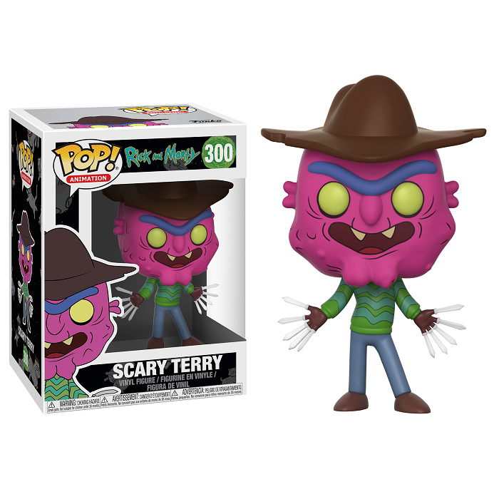 Rick and Morty Pop! Vinyl Figure Scary Terry [300]