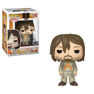 The Walking Dead Pop! Vinyl Figures Prisoner Daryl Dixon [576] - Fugitive Toys