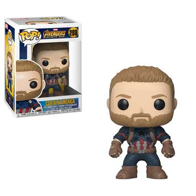 Marvel Pop! Vinyl Figure Captain America [Avengers Infinity War] [288]