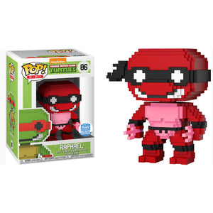 8-Bit Pop! Vinyl Figure Raphael (Neon Red) [06] - Fugitive Toys