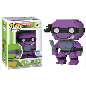 8-Bit Pop! Vinyl Figure Donatello (Neon Purple) [05] - Fugitive Toys