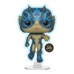 The Shape of Water Pop! Vinyl Figures Glow In The Dark Amphibian Man (Chase) [637] - Fugitive Toys