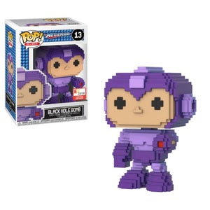 Mega Man Pop! Vinyl Figures 8-Bit Black Hole Bomb [13]