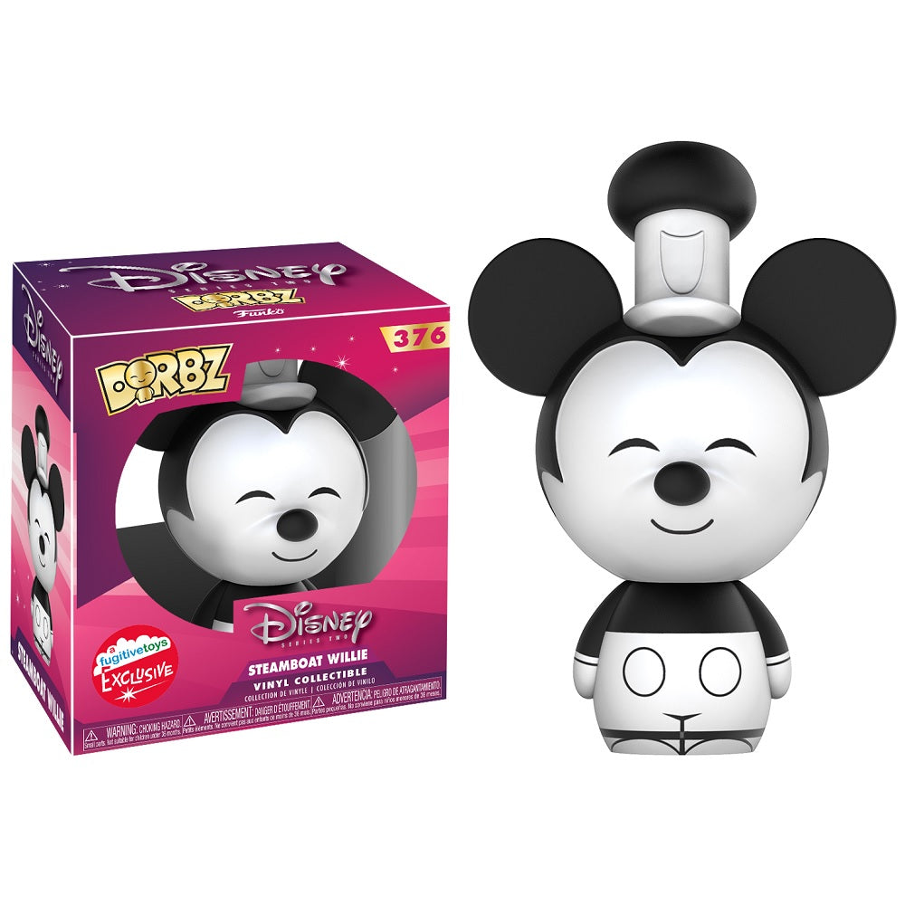 Dorbz Disney: Steamboat Willie [Fugitive Toys Exclusive] [376]