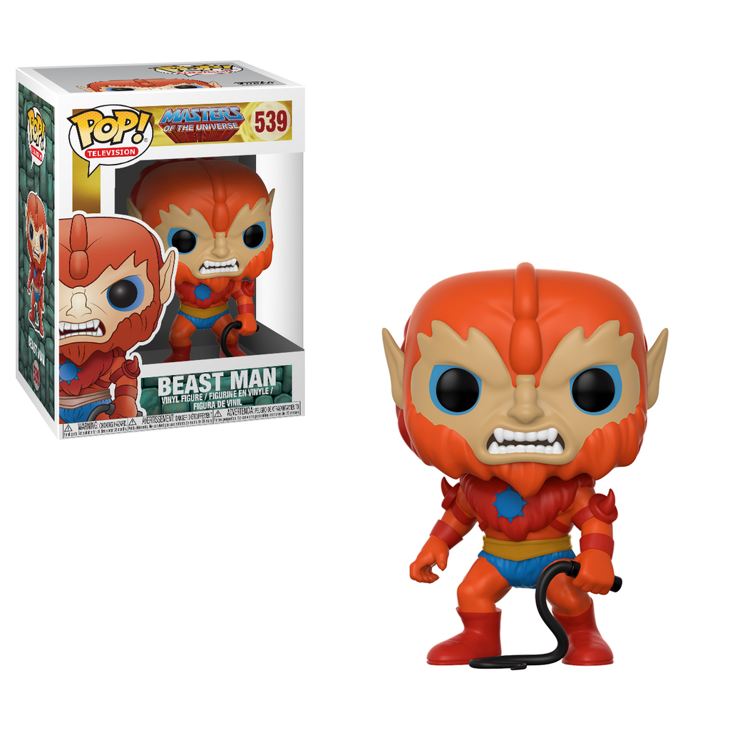 Masters of the Universe Pop! Vinyl Figure Beast Man [539]