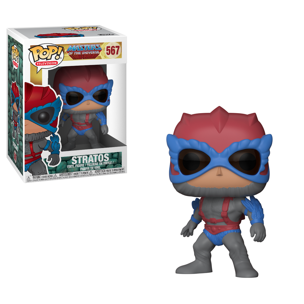 Masters of the Universe Pop! Vinyl Figure Stratos [567]