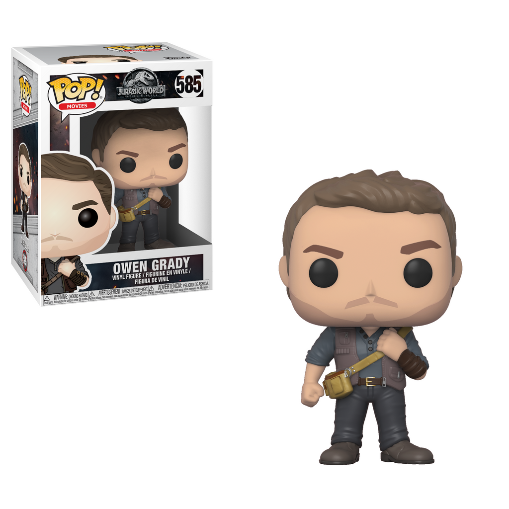 Jurassic World Fallen Kingdom Pop! Vinyl Figure Owen Grady [585]