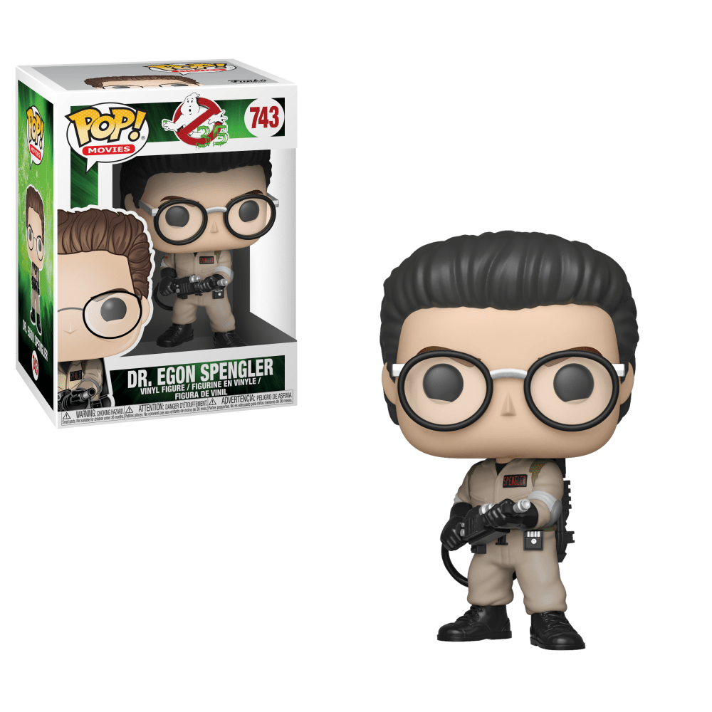 Ghostbusters Movie Pop! Vinyl Figure Dr. Egon Spengler [743]