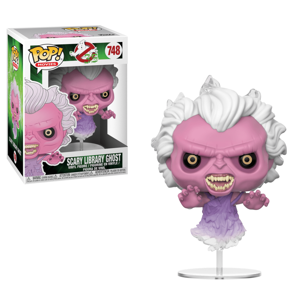 Ghostbusters Movie Pop! Vinyl Figure Scary Library Ghost [748]