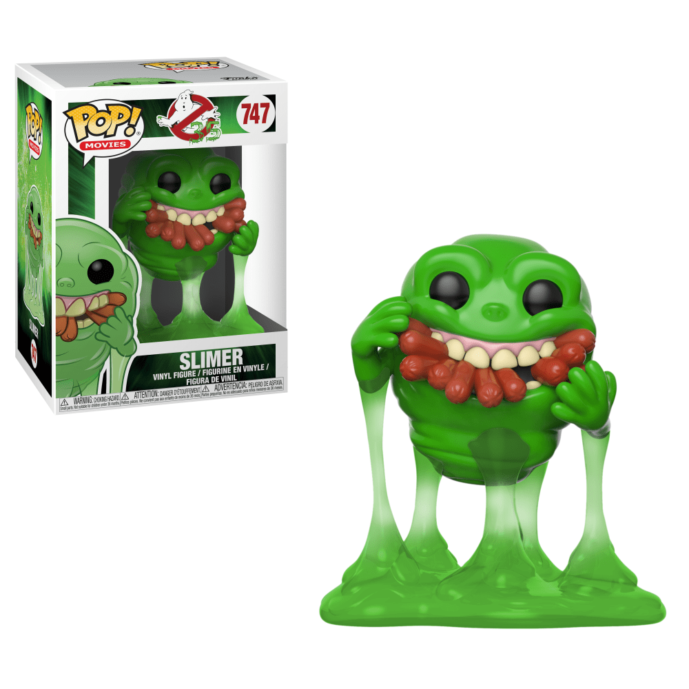 Ghostbusters Movie Pop! Vinyl Figure Slimer with Hot Dogs [747]