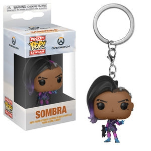 Overwatch Pocket Pop! Keychain Sombra