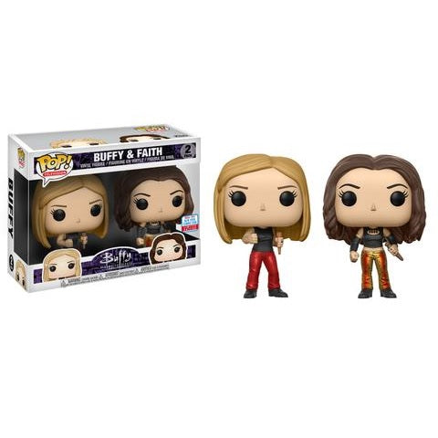 Buffy The Vampire Slayer Pop! Vinyl Figure Buffy & Faith 2-pack [NYCC 2017 Exclusive] [2]