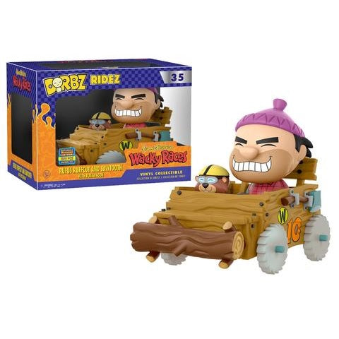 Dorbz Ridez: Hanna-Barbera Wacky Races – Rufus Ruffcut & Sawtooth [Pop Up Shop 2017 Exclusive]