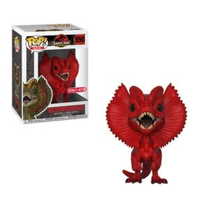 Jurassic Park Pop! Vinyl Figure Red Dilophosaurus [Exclusive] [550]